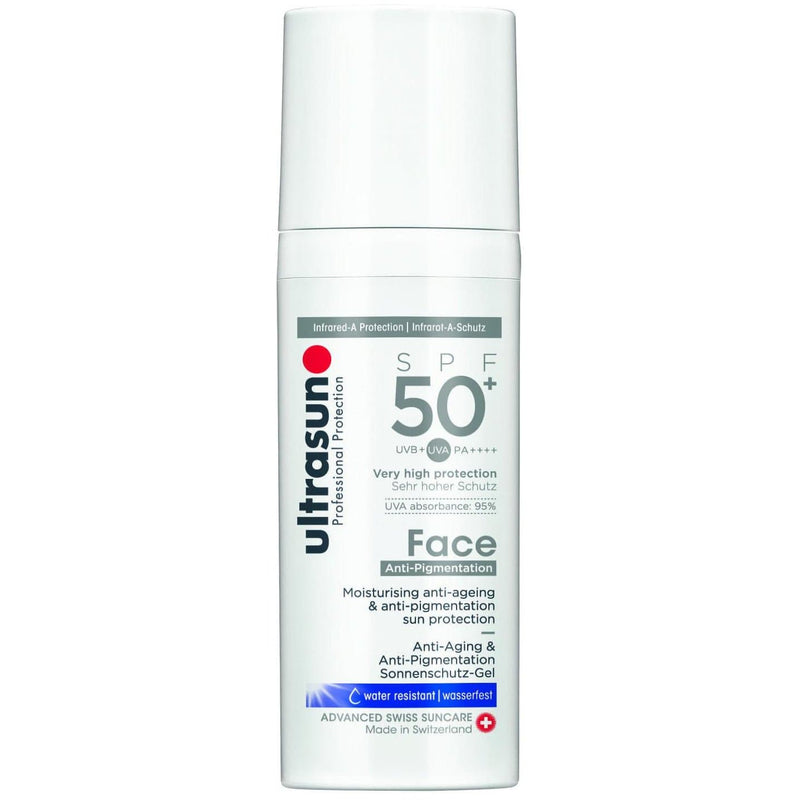 Ultrasun Face Anti-ageing & Anti-Pigmentation SPF50+ (50ml), Sunscreen, Ultrasun - Gone Running