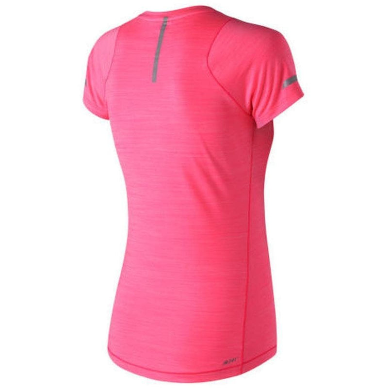 New Balance AWT73233 - Women's Seasonless Short Sleeve, Tops, New Balance - Gone Running