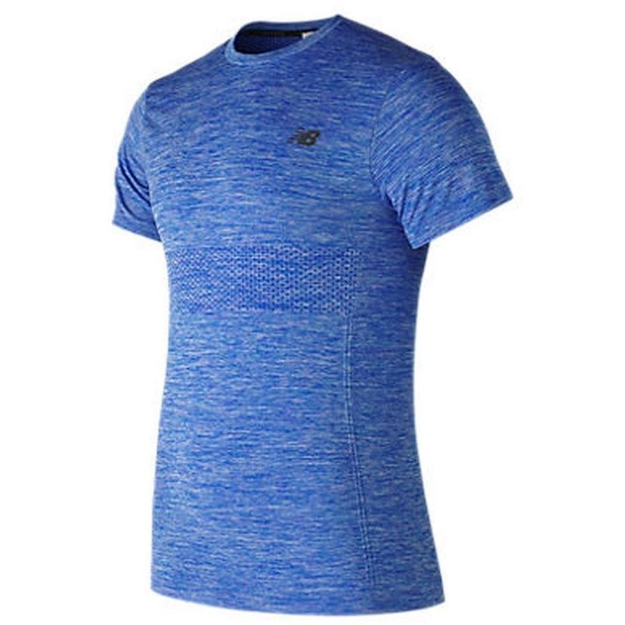 New Balance MT73013 - Men's M4M Seamless Short Sleeve, Tops, New Balance - Gone Running