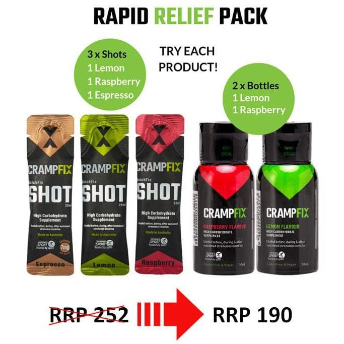CrampFix Value Pack, Electrolyte, CrampFix - Gone Running