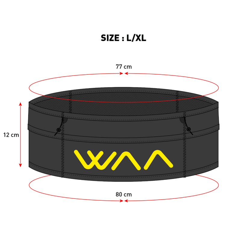 WAA Running Belt, Waist Belt, WAA - Gone Running