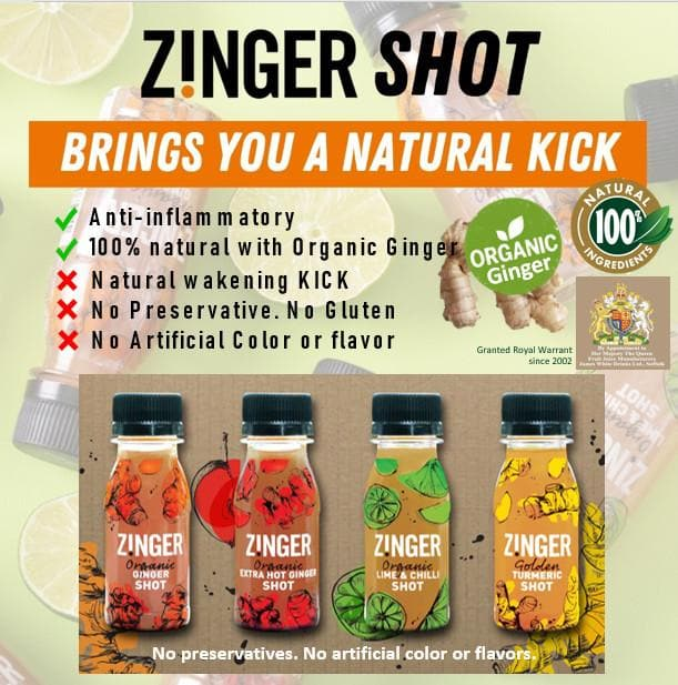 Zinger Variety Flavor Pack, Sports Drink, Zinger - Gone Running