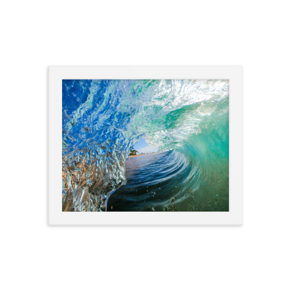 """Maui Wowie"" Framed photo paper poster"