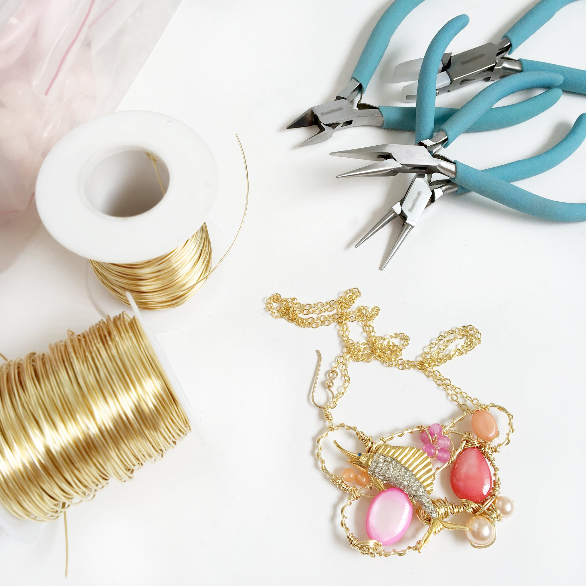 Craft Class / Creative Wired Jewellery - Statement Necklace / 10 Dec