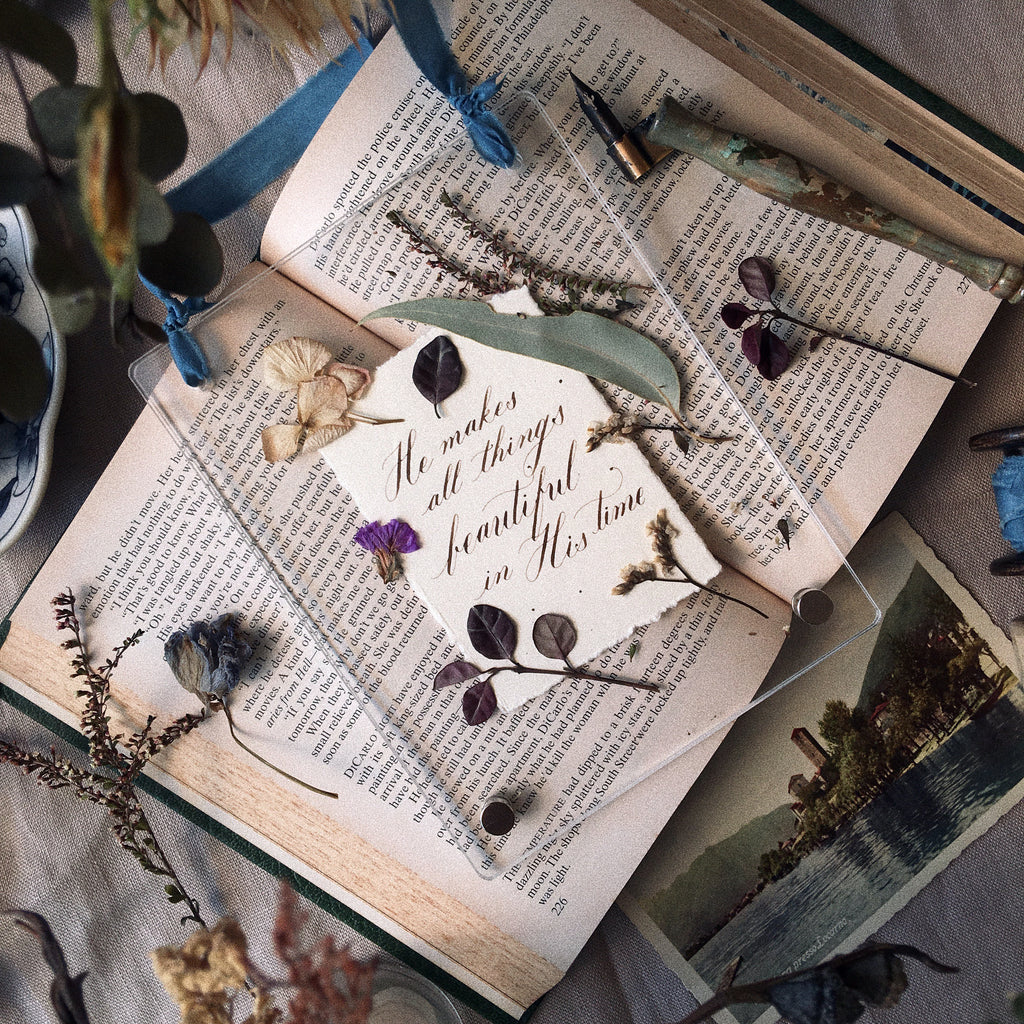 Winter Edition: The Language of Flowers & Modern Calligraphy with Poptsie Paper Co / 10 Dec