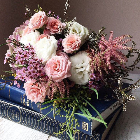 Floral Class / Seasonal Bouquet Class with Shop Wonderland / 16 Dec