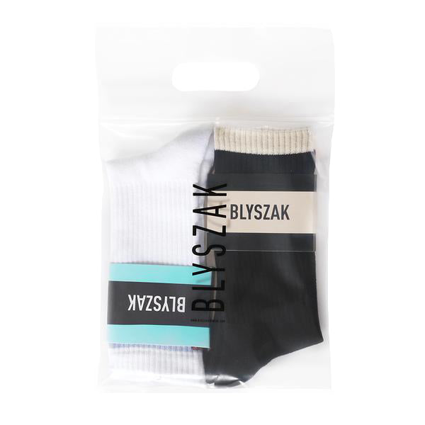 2 Pack Socks: Work + Play - BLYSZAK eyewear BLYKIT - eyewear, optical, sunglasses