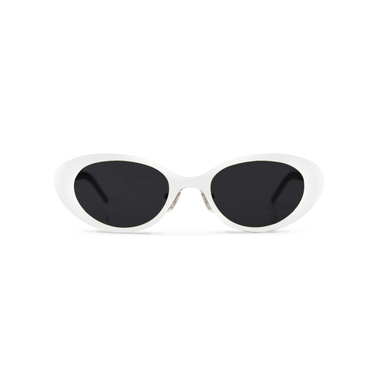 Metal. Porcelain. Black Lens. - BLYSZAK eyewear eyewear - eyewear, optical, sunglasses