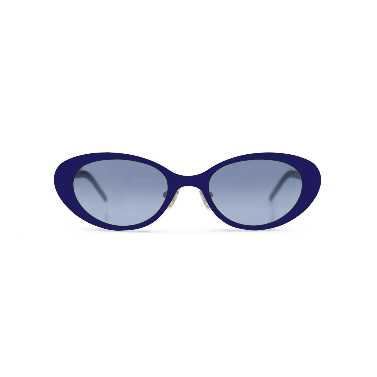 Metal. Yves Blue. Ocean Lens. - BLYSZAK eyewear eyewear - eyewear, optical, sunglasses