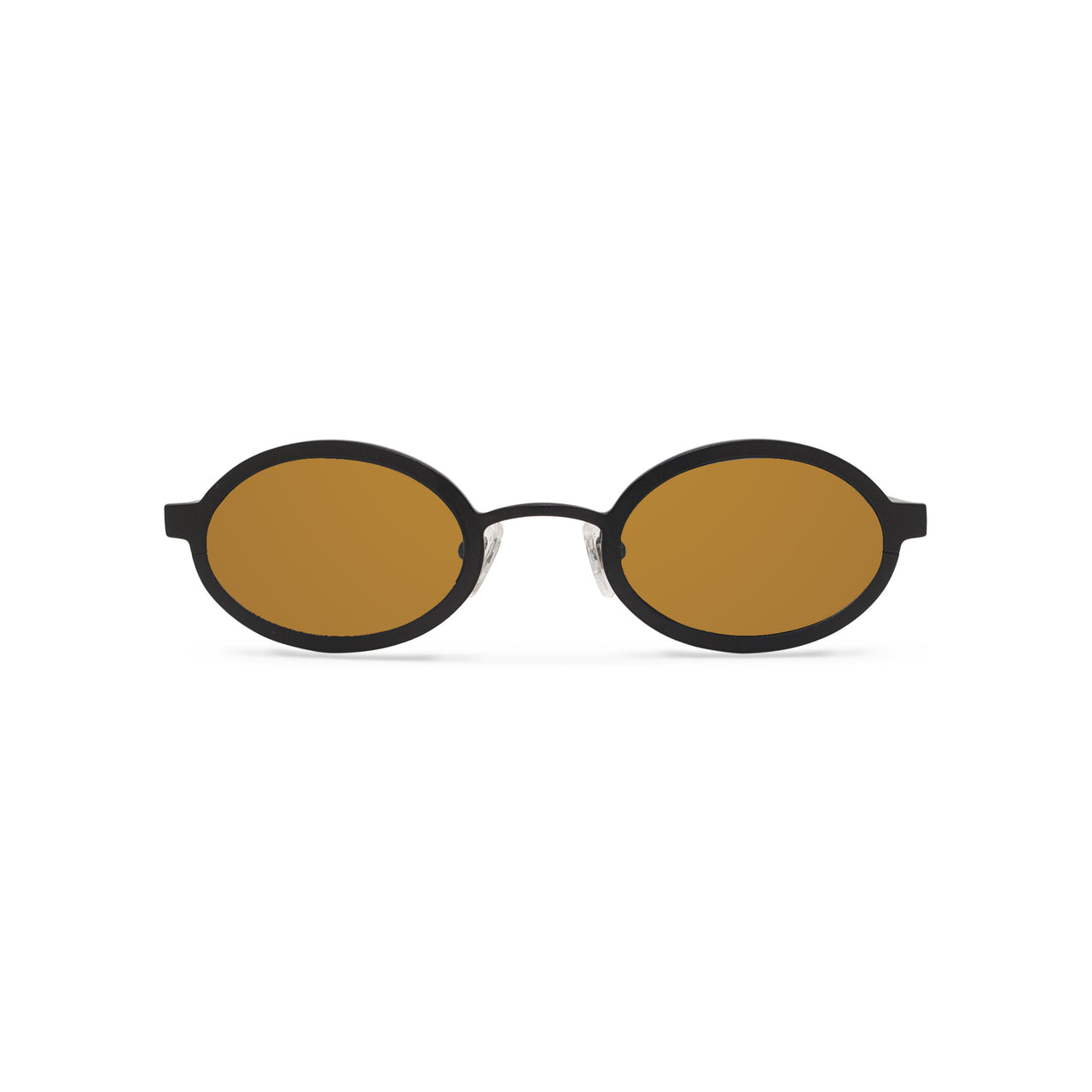 Metal. Matte Black. Bronze Mirror Lens. - BLYSZAK eyewear eyewear - eyewear, optical, sunglasses
