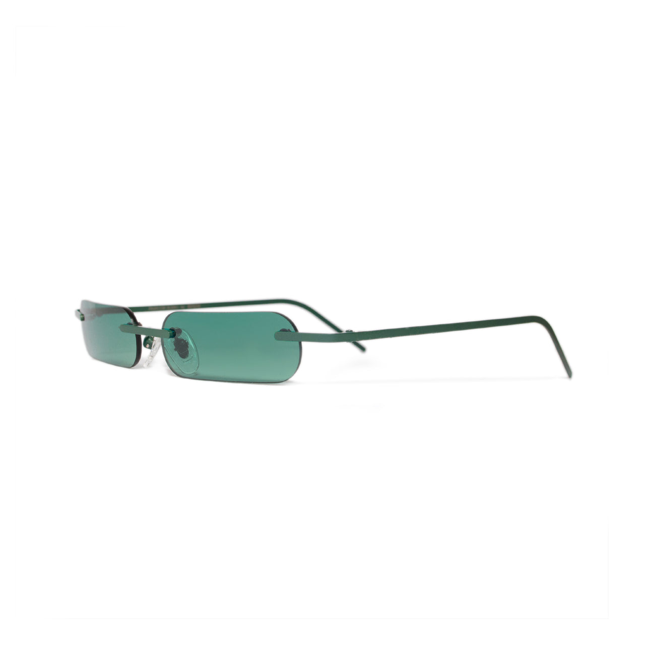 Metal. Gloss Black. Jade Lens. - BLYSZAK eyewear  - eyewear, optical, sunglasses