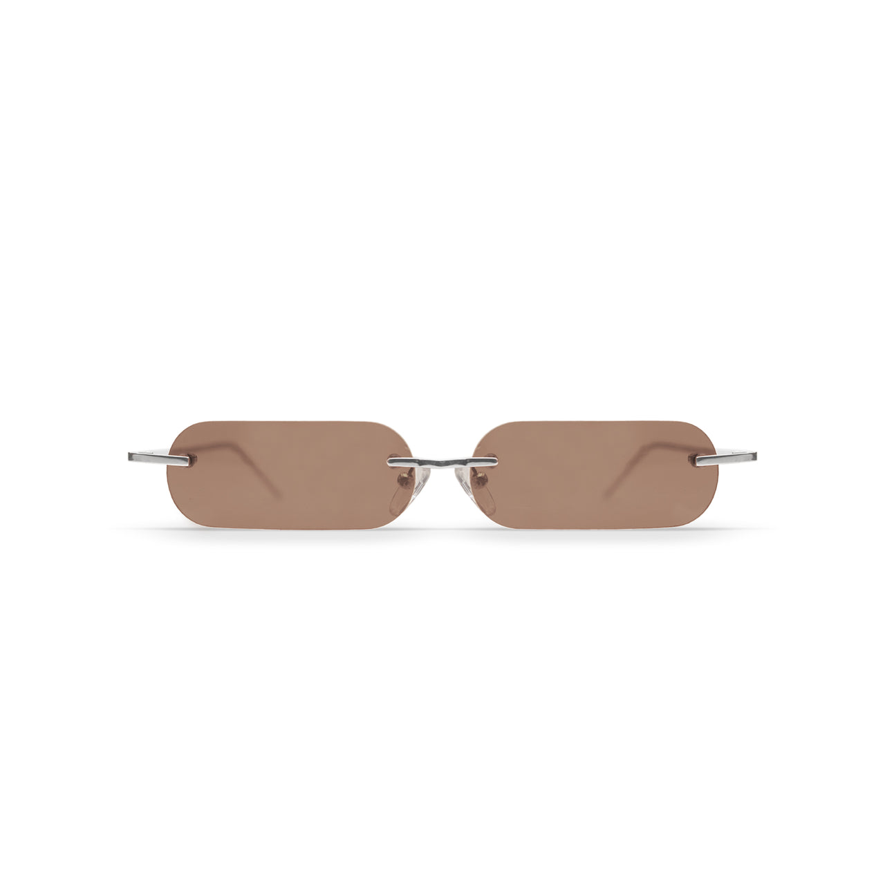 Metal. Polished Silver. Hawthorn Lens. - BLYSZAK eyewear eyewear - eyewear, optical, sunglasses