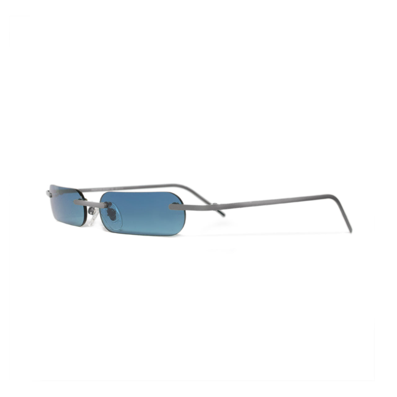 Metal. Polished Silver. Ocean Lens. - BLYSZAK eyewear eyewear - eyewear, optical, sunglasses