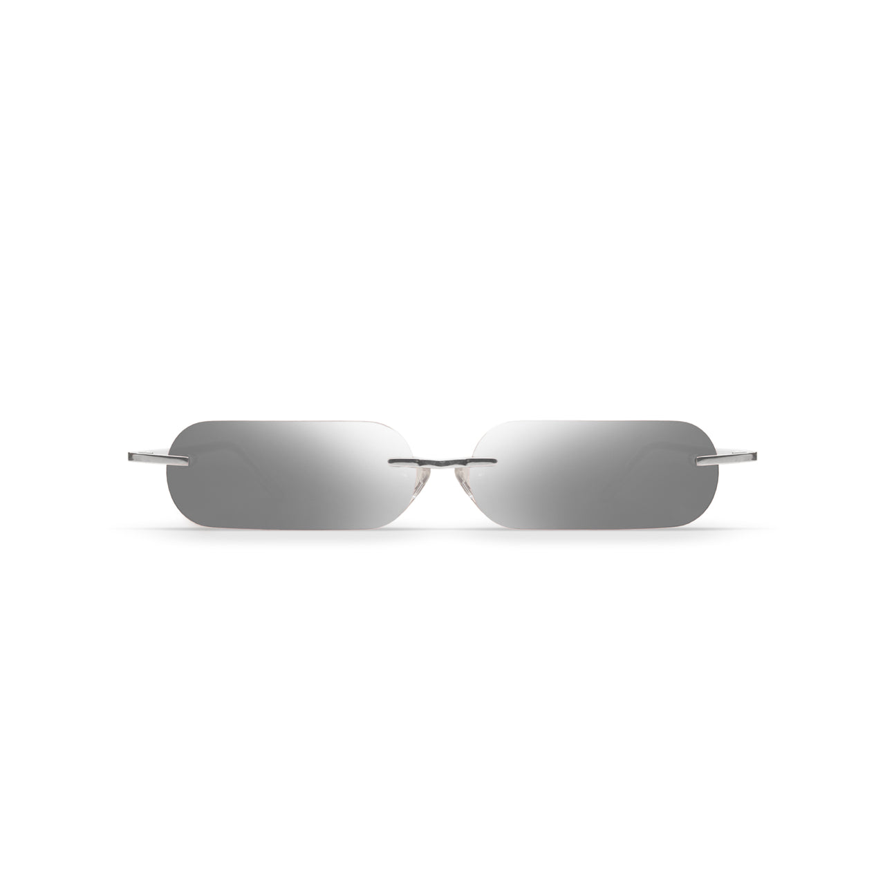 Metal. Polished Silver. Silver Mirror Lens. - BLYSZAK eyewear eyewear - eyewear, optical, sunglasses