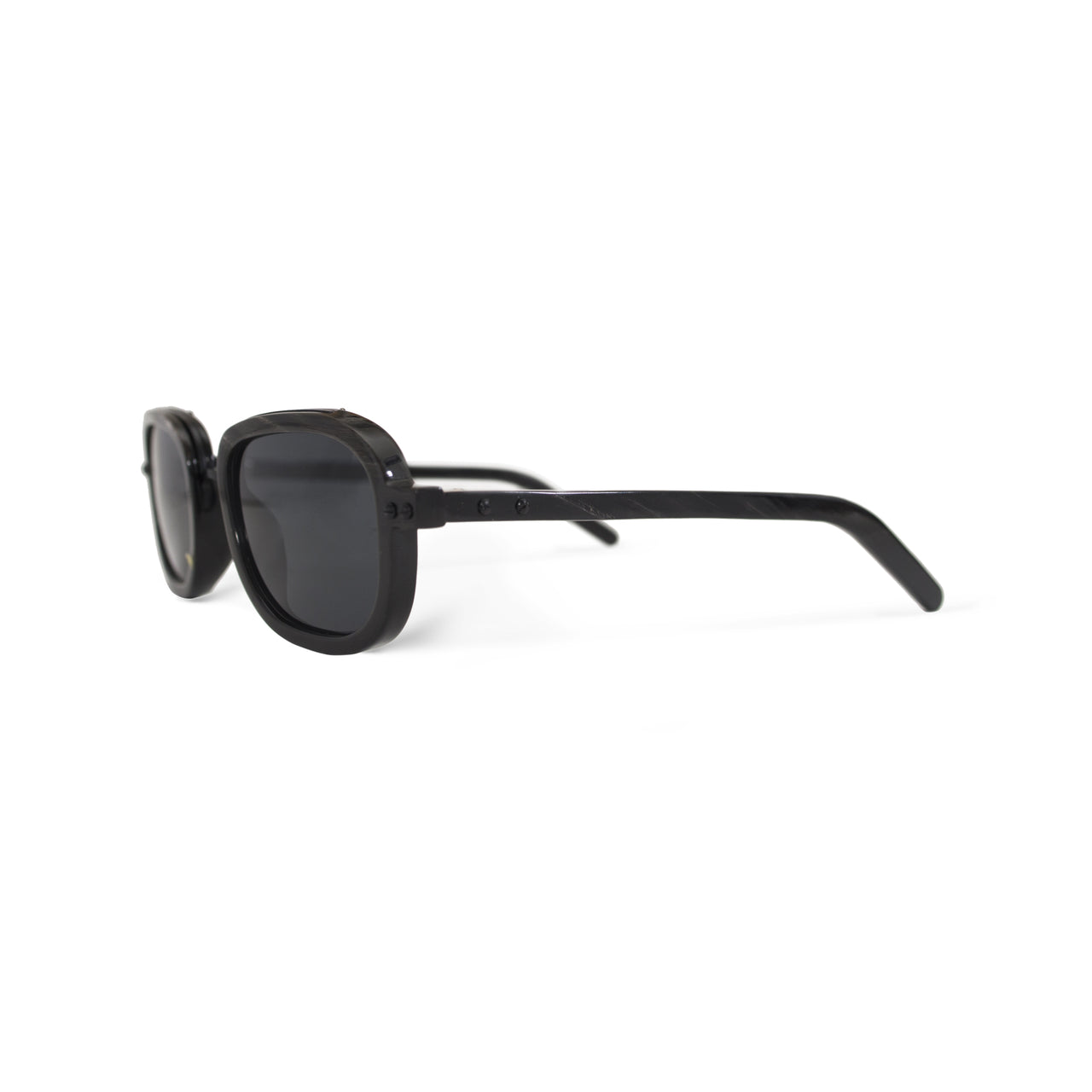 Horn. Dark. Black Lens. - BLYSZAK eyewear eyewear - eyewear, optical, sunglasses