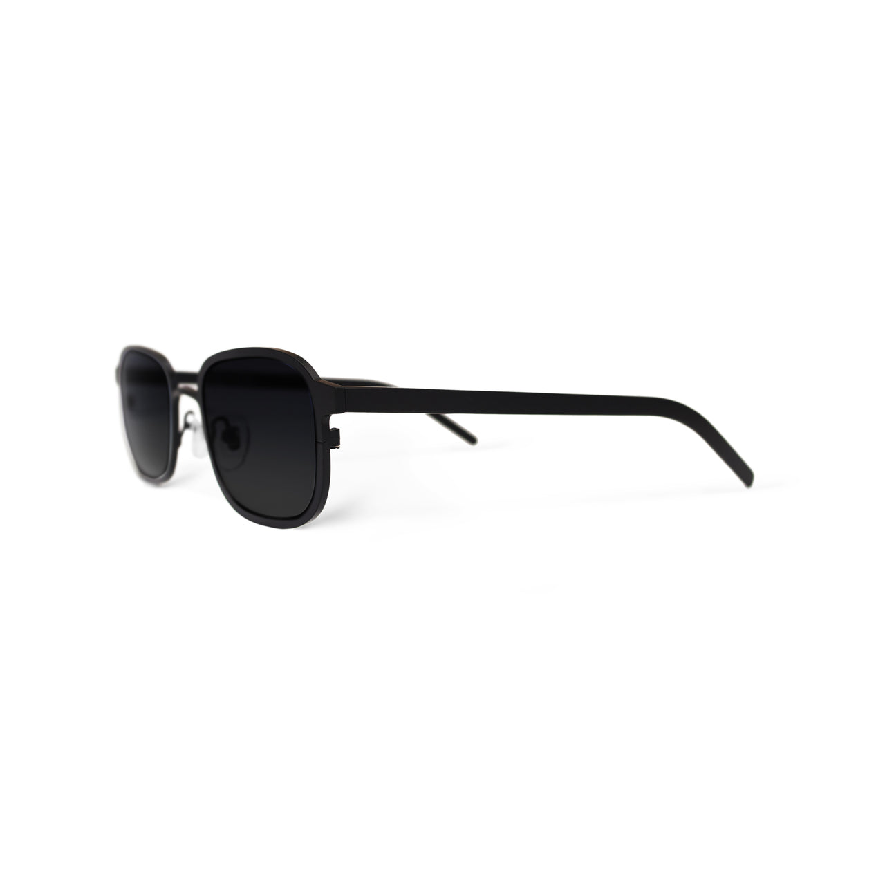 Metal. Gloss Black. Black Lens. - BLYSZAK eyewear eyewear - eyewear, optical, sunglasses