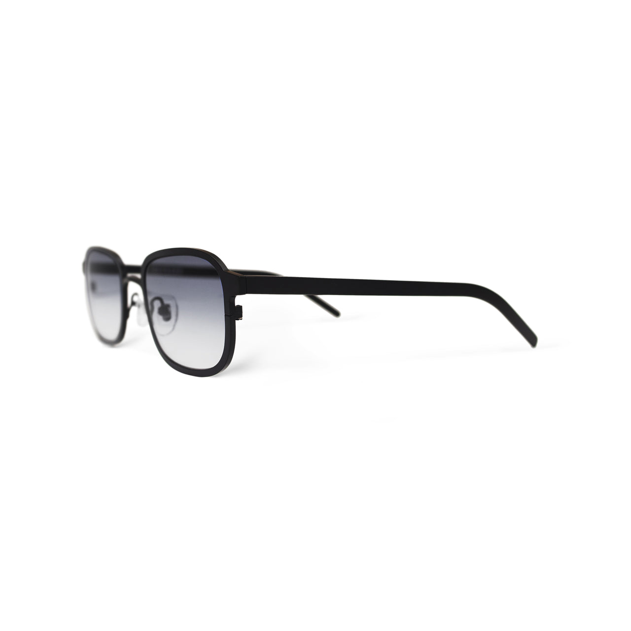 Metal. Gloss Black. Smoke Lens. - BLYSZAK eyewear eyewear - eyewear, optical, sunglasses
