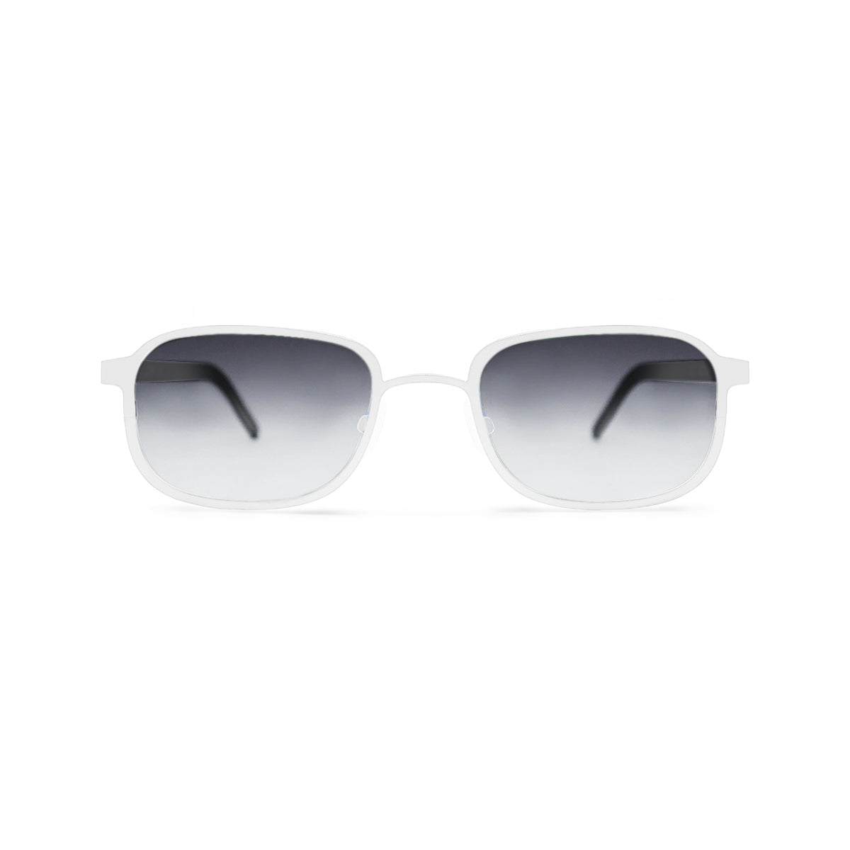 Metal. Porcelain. Smoke Lens. - BLYSZAK eyewear  - eyewear, optical, sunglasses