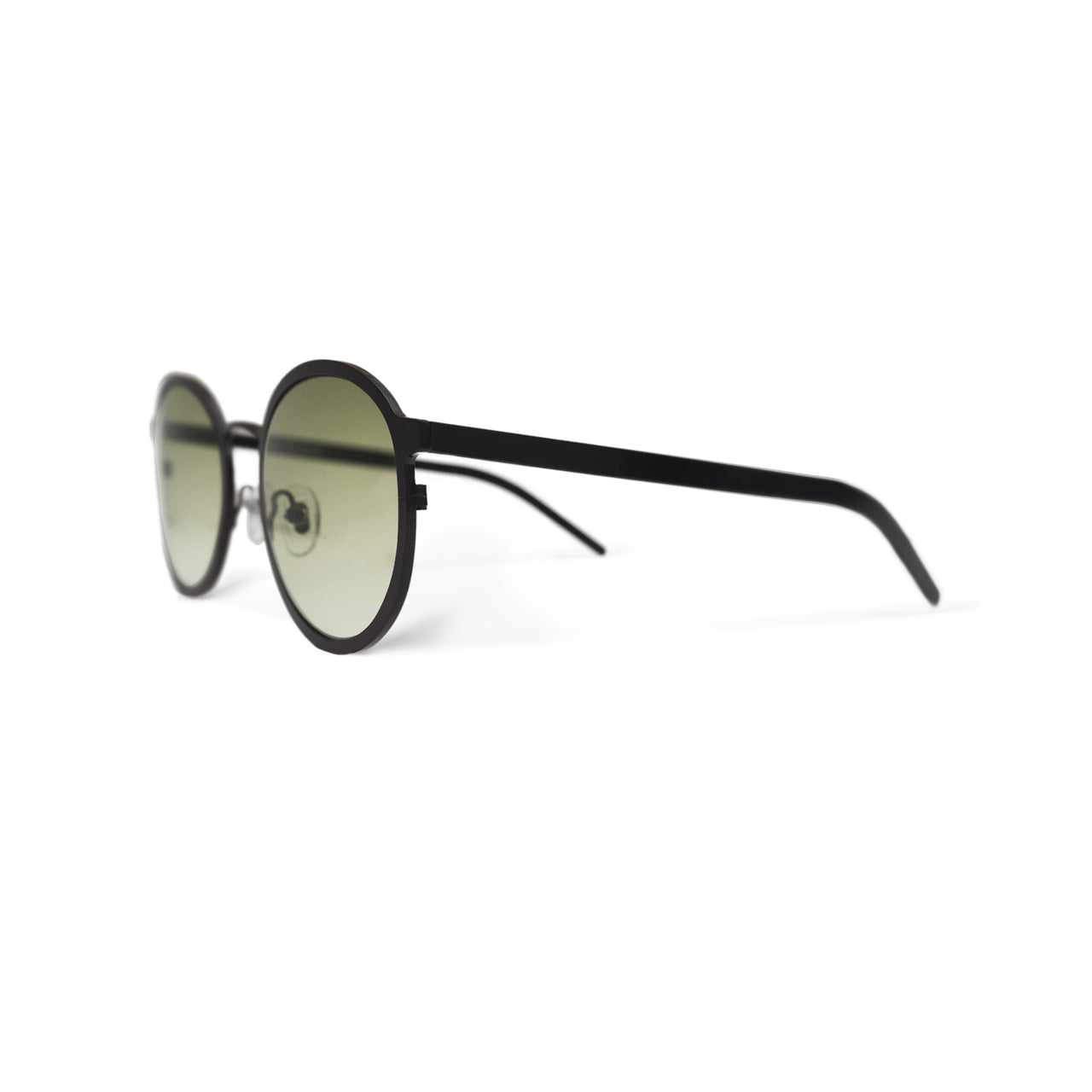Metal. Matte Black. Olive Lens. - BLYSZAK eyewear eyewear - eyewear, optical, sunglasses