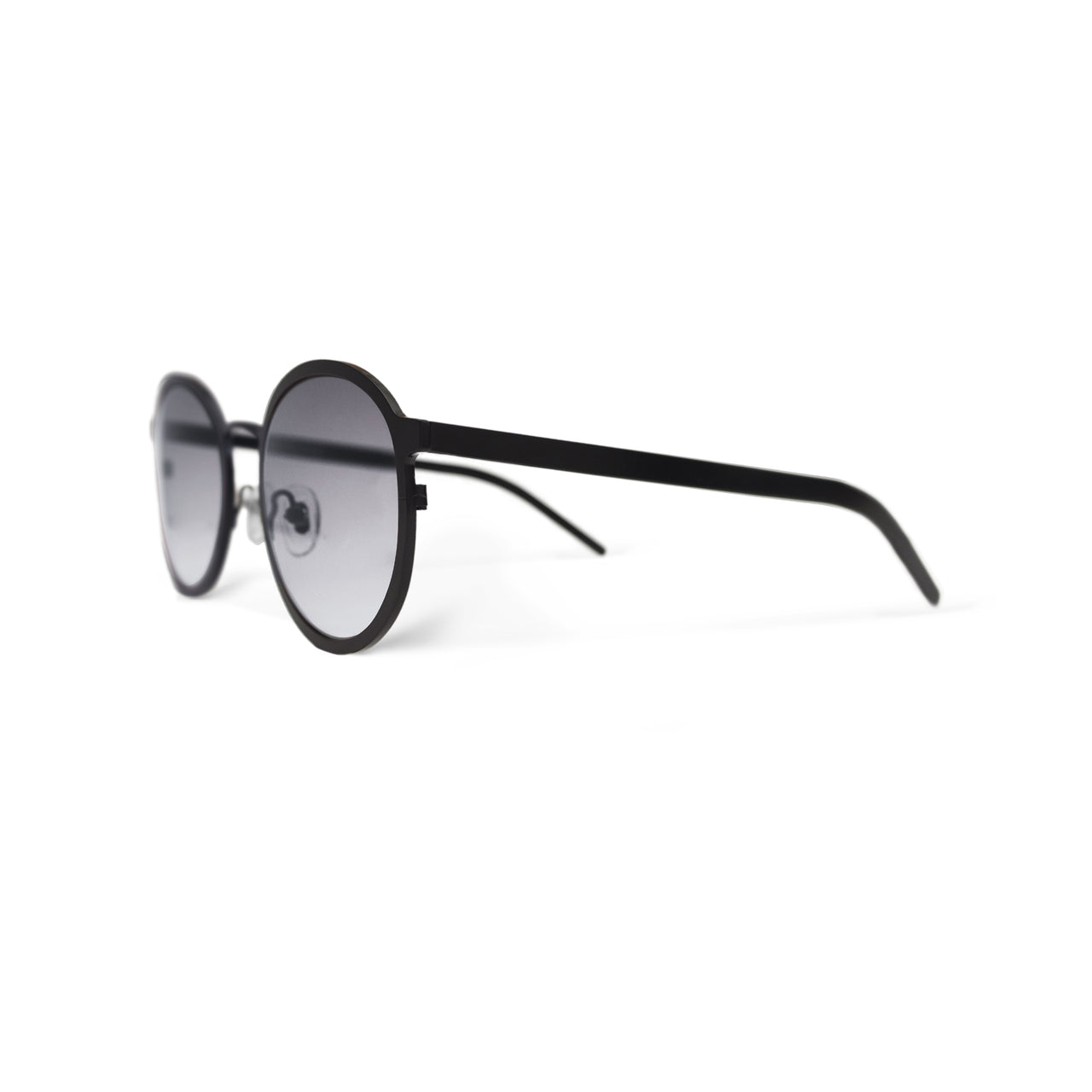 Metal. Matte Black. Smoke Lens. - BLYSZAK eyewear eyewear - eyewear, optical, sunglasses
