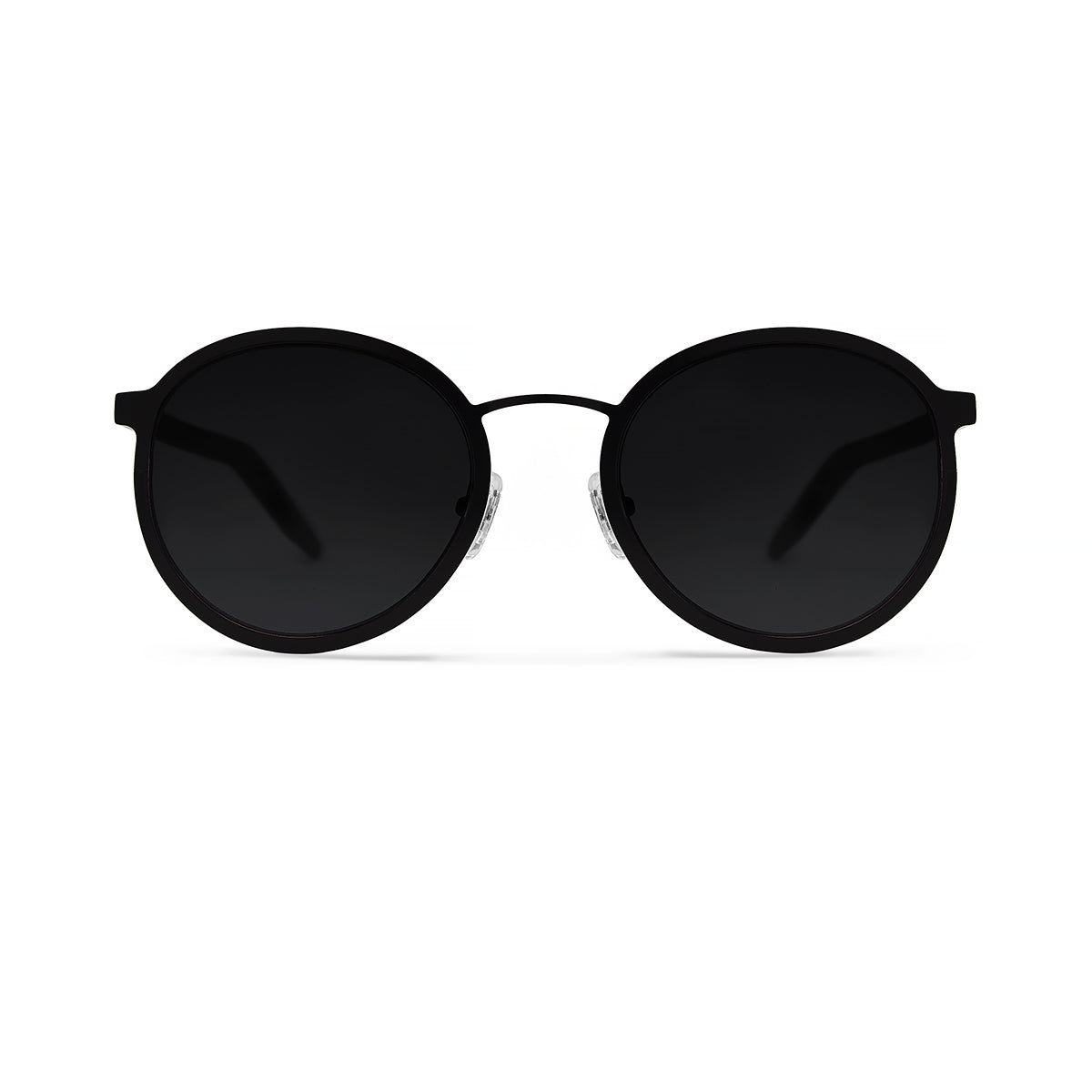 Metal / Horn. Matte Black / Dark. Black Lens. - BLYSZAK eyewear eyewear - eyewear, optical, sunglasses
