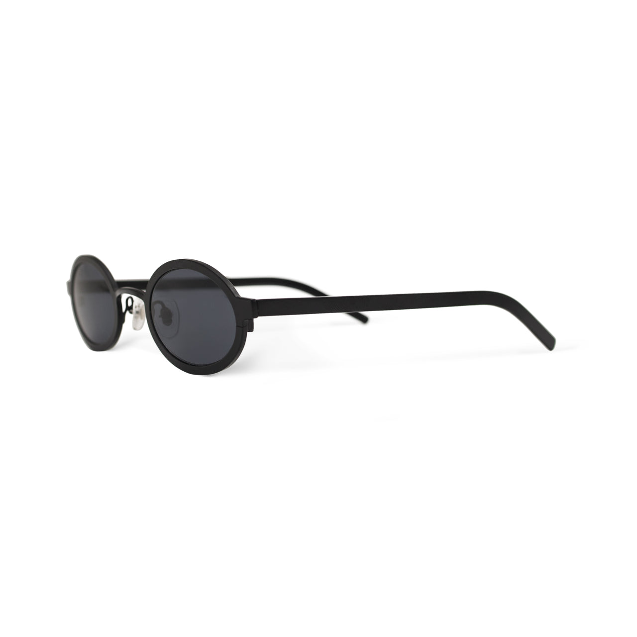Metal. Matte Black. Black Lens. - BLYSZAK eyewear eyewear - eyewear, optical, sunglasses