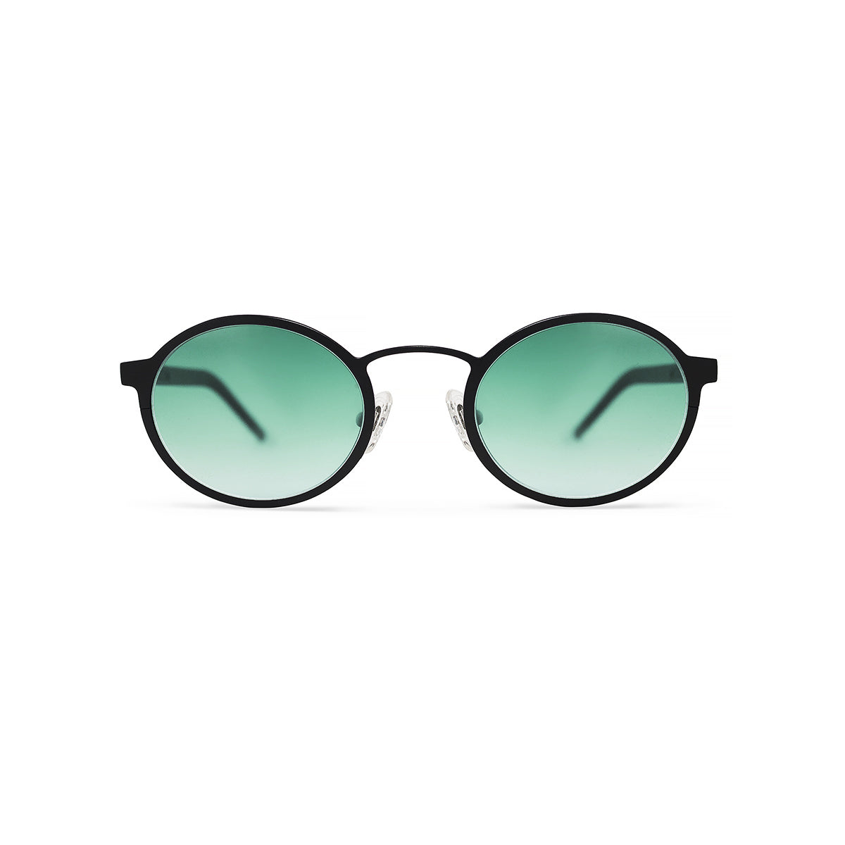 Metal. Matte Black. Jade Lens. - BLYSZAK eyewear eyewear - eyewear, optical, sunglasses