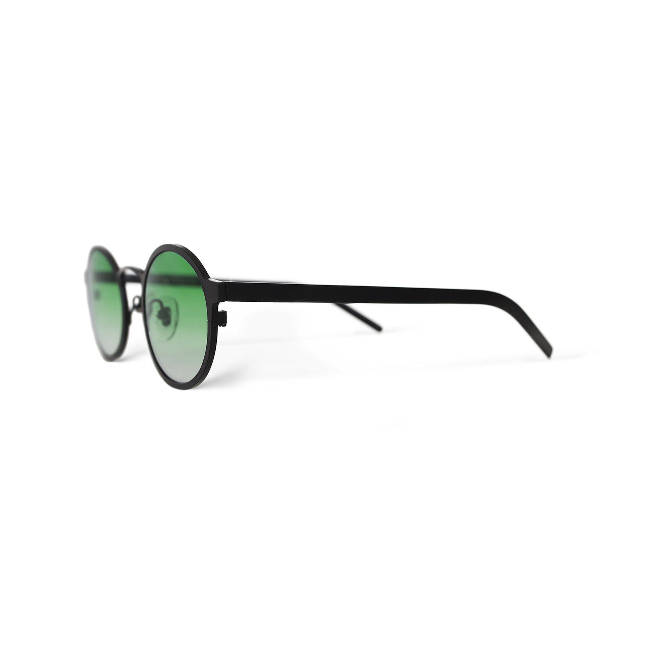 Metal. Matte Black. Jade Lens - BLYSZAK eyewear eyewear - eyewear, optical, sunglasses