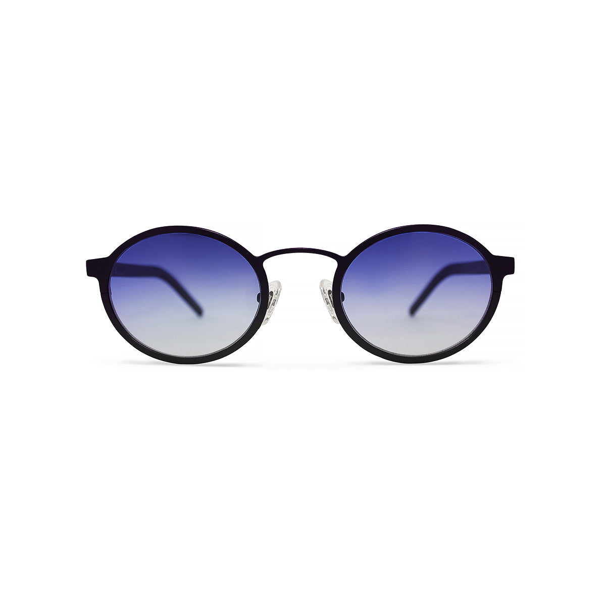 Metal. Gloss Black. Lilac Lens. - BLYSZAK eyewear eyewear - eyewear, optical, sunglasses