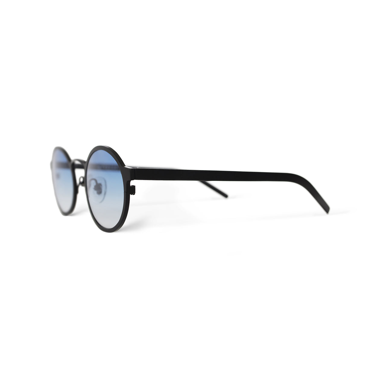 Metal. Matte Black. Ocean Lens. - BLYSZAK eyewear eyewear - eyewear, optical, sunglasses