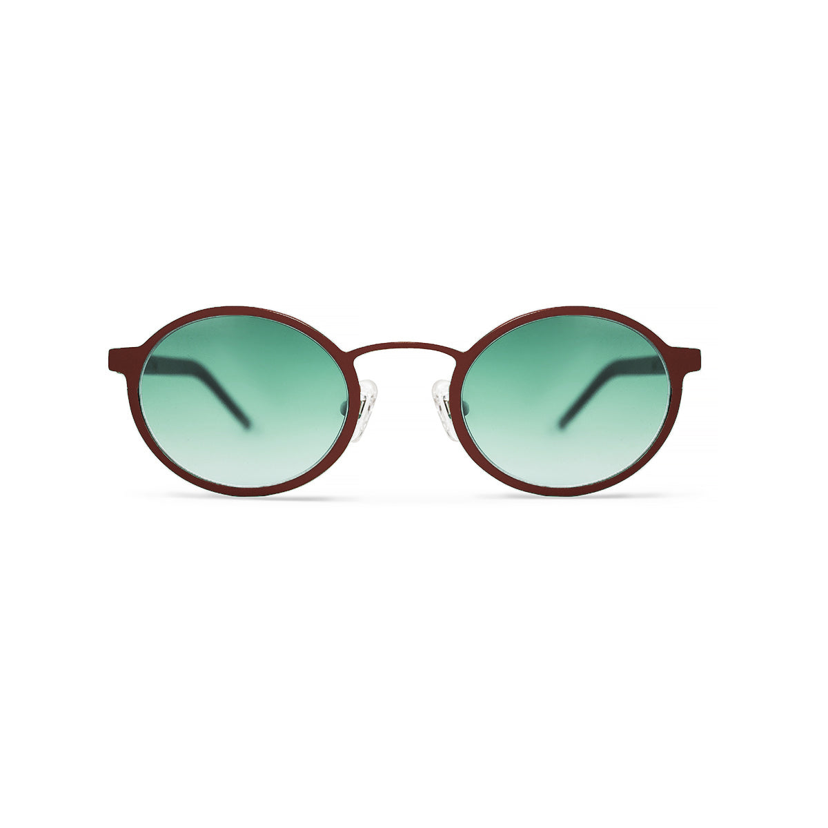 Metal. Crimson. Jade Lens. - BLYSZAK eyewear eyewear - eyewear, optical, sunglasses