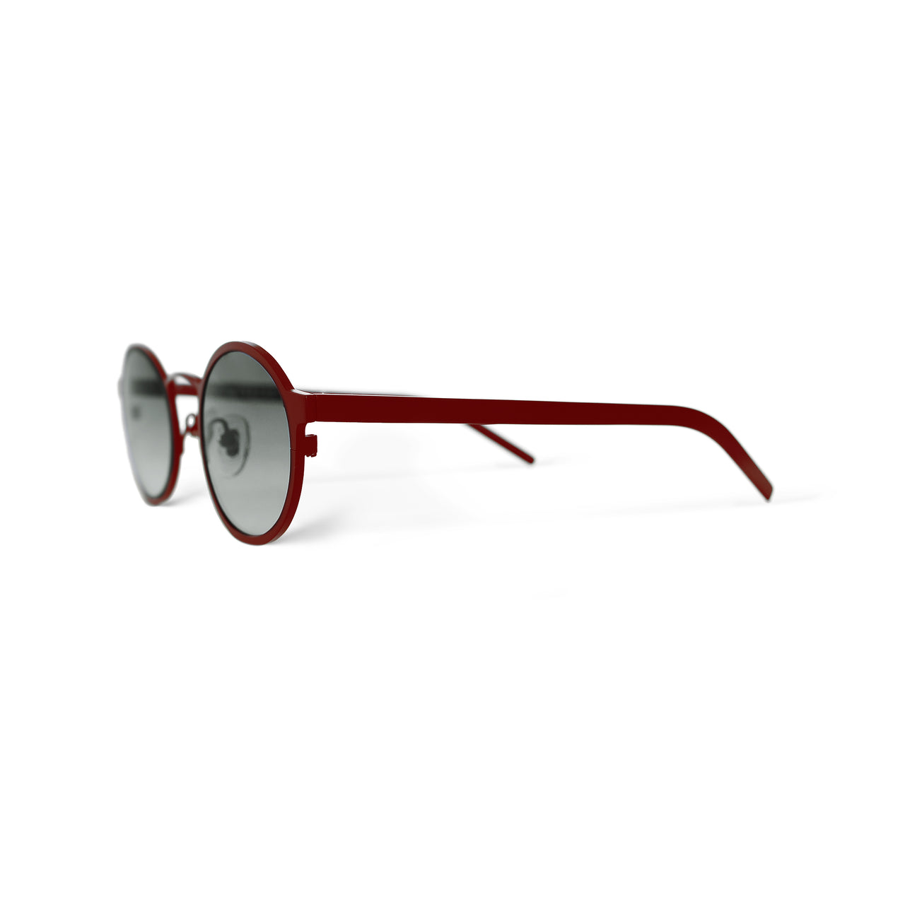 Metal. Crimson. Smoke Lens. - BLYSZAK eyewear eyewear - eyewear, optical, sunglasses