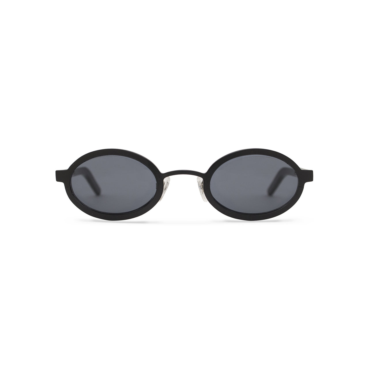 Metal / Horn. Matte Black / Dark. Black Lens. - BLYSZAK eyewear  - eyewear, optical, sunglasses