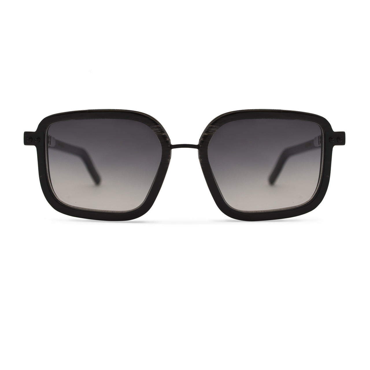 Horn. Dark. Smoke Lens. - BLYSZAK eyewear eyewear - eyewear, optical, sunglasses