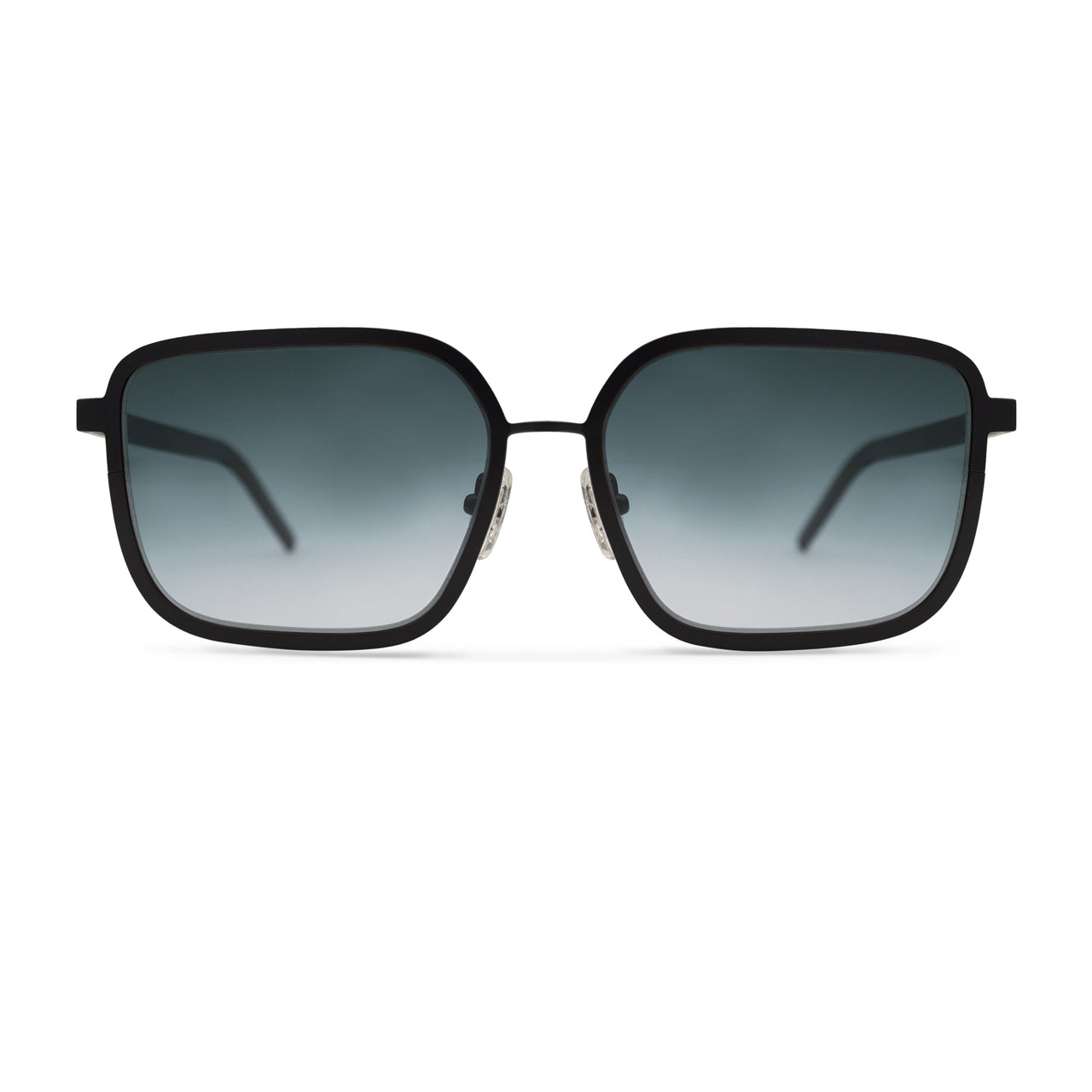 Metal. Gloss Black. Marine Lens. - BLYSZAK eyewear eyewear - eyewear, optical, sunglasses