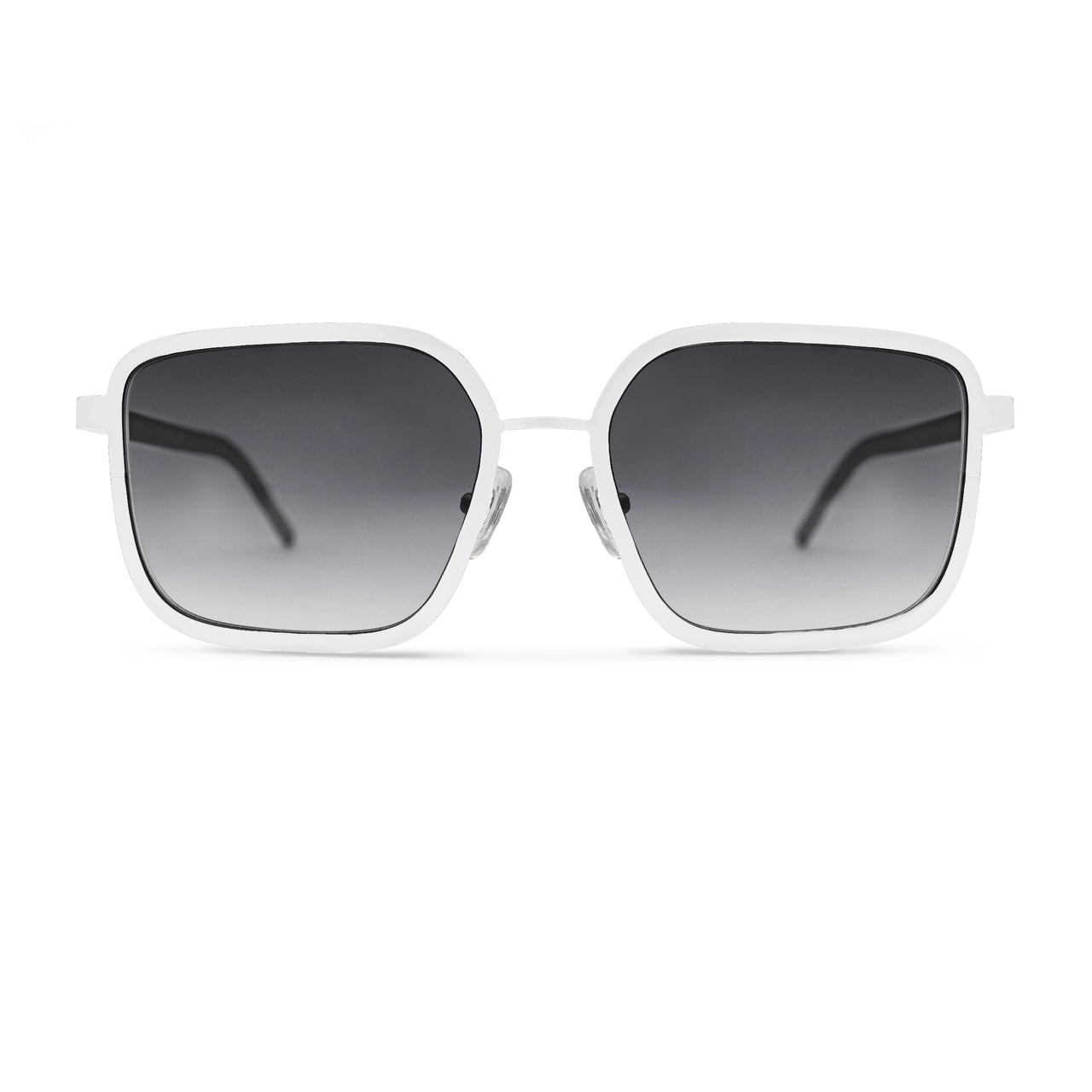Metal. Porcelain. Smoke Lens. - BLYSZAK eyewear eyewear - eyewear, optical, sunglasses