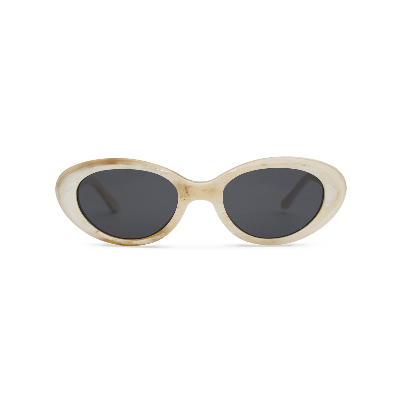 Horn. Oxen. Black Lens - BLYSZAK eyewear eyewear - eyewear, optical, sunglasses