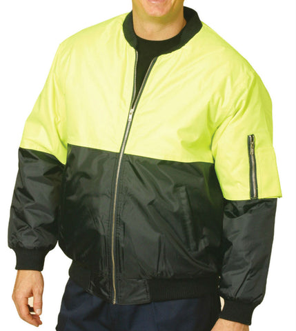 2 Tone Flying Jacket - SW06A - J&M Workwear  - 3