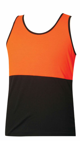 Safety Singlet - SW15 - J&M Workwear  - 1