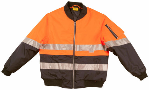 2 Tone Flying Jacket - SW16A - J&M Workwear  - 1