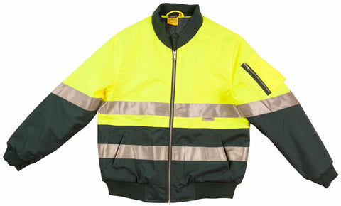2 Tone Flying Jacket - SW16A - J&M Workwear  - 2