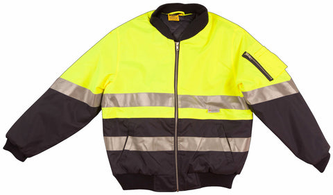 2 Tone Flying Jacket - SW16A - J&M Workwear  - 3