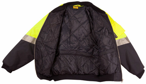 2 Tone Flying Jacket - SW16A - J&M Workwear  - 4