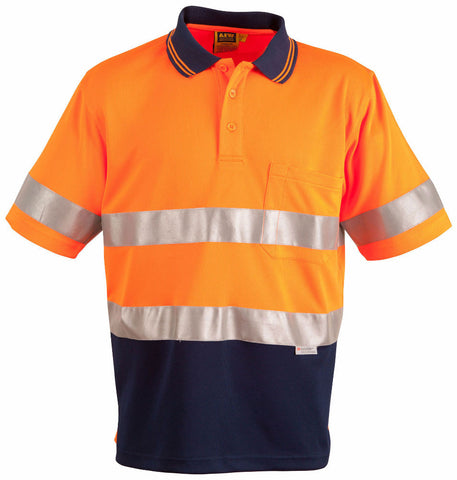 3M Tapes Safety Polo - SW17A - J&M Workwear  - 2