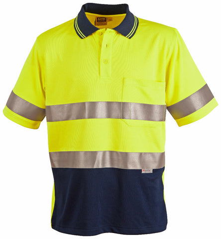 3M Tapes Safety Polo - SW17A - J&M Workwear  - 1