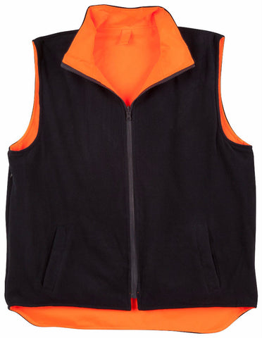 Reversible Safety Vest with 3M Tapes - SW19A - J&M Workwear  - 3