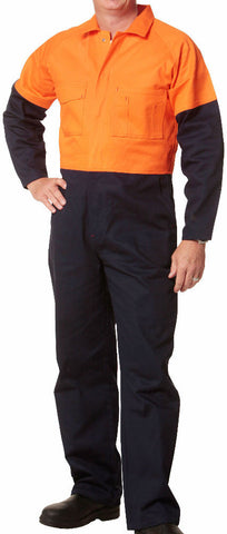 2 Tone Coverall - SW204 - J&M Workwear