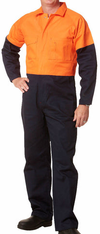 2 Tone Coverall - SW205 - J&M Workwear