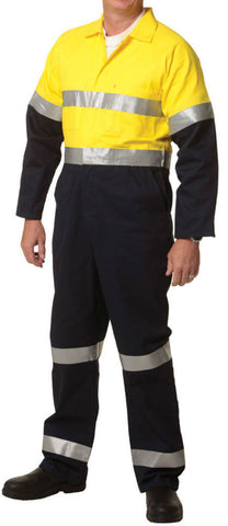 2 Tone Coverall - SW207 - J&M Workwear