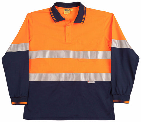 3M Tapes Safety Polo - SW21A - J&M Workwear  - 1